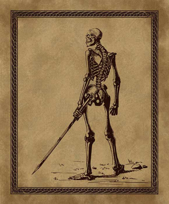 Skeletons...