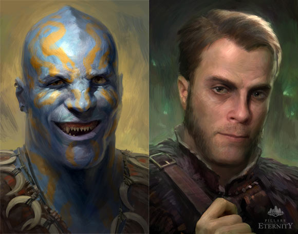 Some cool backer portraits.