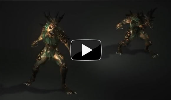 In-engine creature animations.