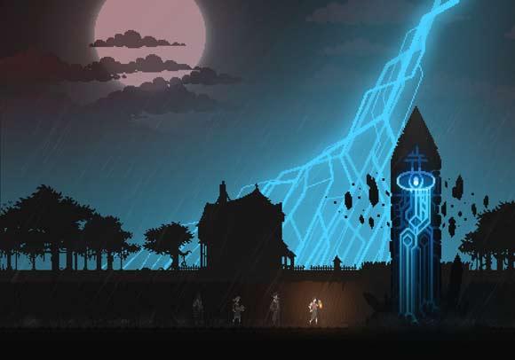 Kickstarter for Witchmarsh.